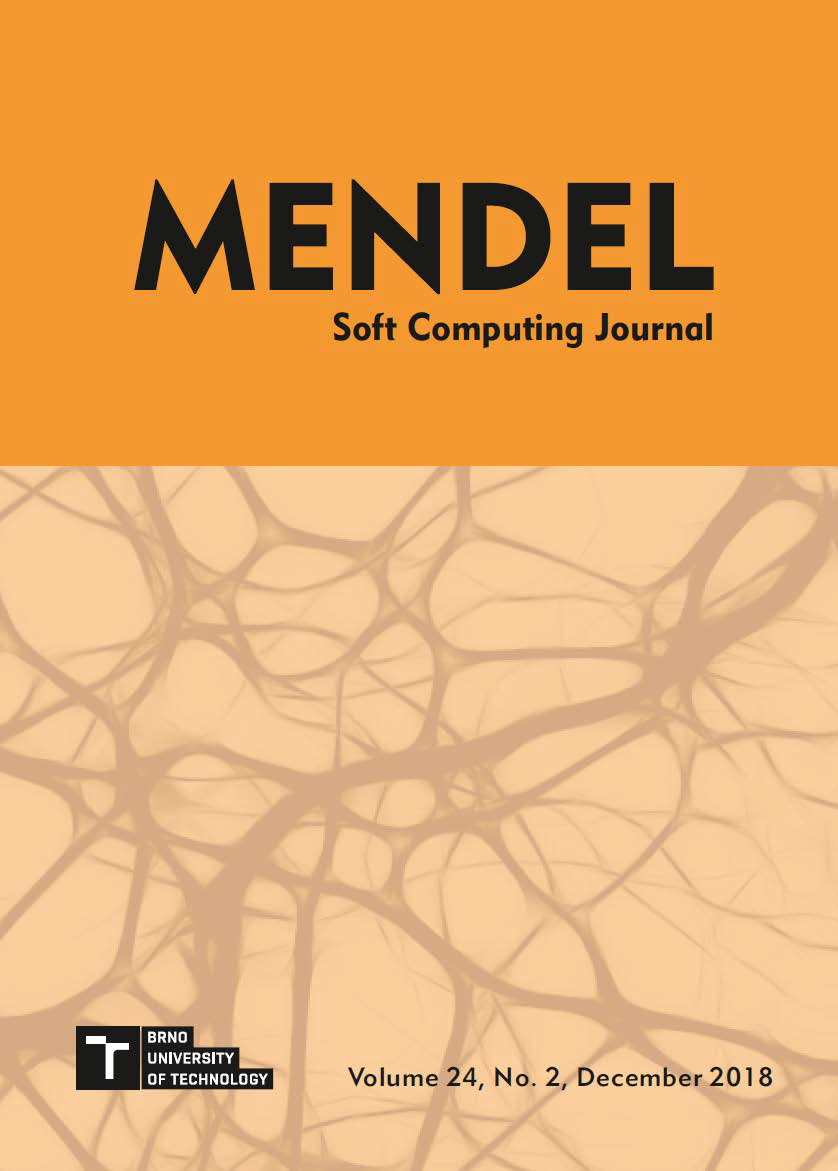 MENDEL Soft Computing Journal, Volume 24, No. 2, December 2018 - Cover